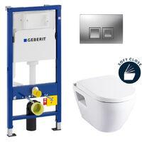 Geberit Complete pack toilets Geberit UP100 Solido (39186GEB2)