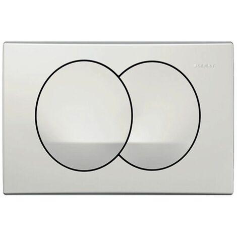 Geberit DELTA20 Alpine White Dual Flush Plate DELTA 20 UP100 Concealed Cisterns