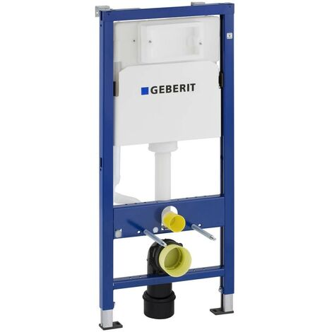 Geberit Duofix 1.12m WC Toilet Frame Delta Cistern Wall Brackets WC Bend