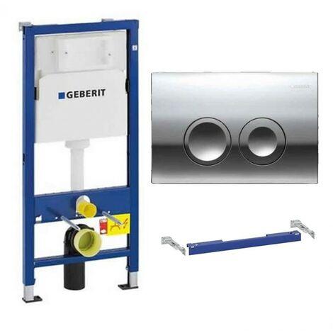 Geberit Duofix 1.12m WC Toilet Frame Delta Cistern Wall Brackets WC Bend Delta21