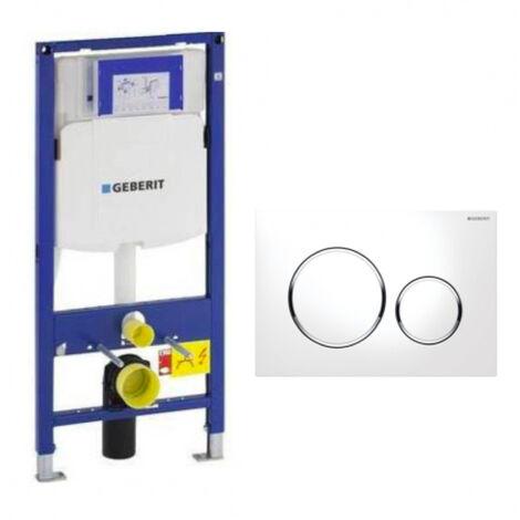 Geberit DuoFix 320 Pack + Sigma Control Plate 20 White Chrome (SETUP320-PRO5)