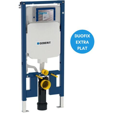 Geberit Duofix Bâti-support extra-plat 114 cm, gain de place, avec réservoir à encastrer Sigma 8 cm (111.796.00.1)