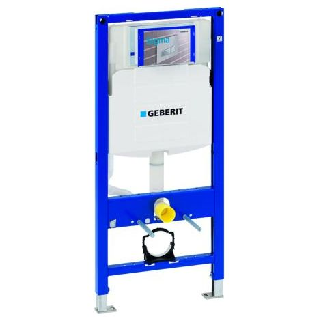 Geberit Duofix frame for wall-hung WC, 112 cm, with Sigma concealed cistern 12 cm_111.384.00.5