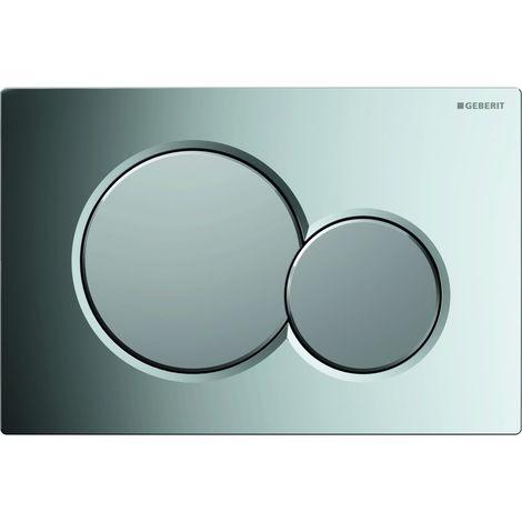 Geberit DUOFIX SIGMA 01 - Plaque de déclenchement WC chromé brillant (115.770.KA.5)