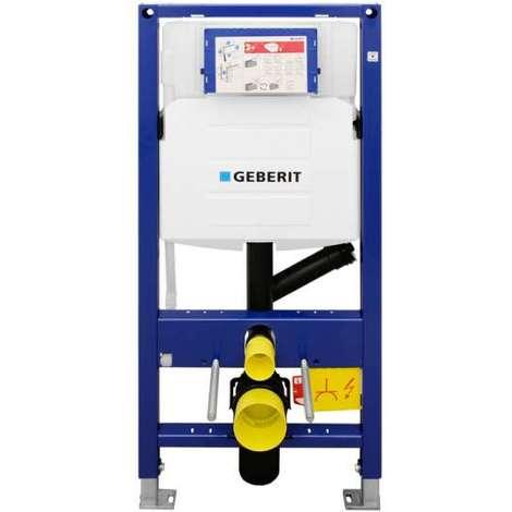 Geberit DUOFIX BASIC 112 cm Schallschutzset SPK UP100 DELTA 50 Wei/ß