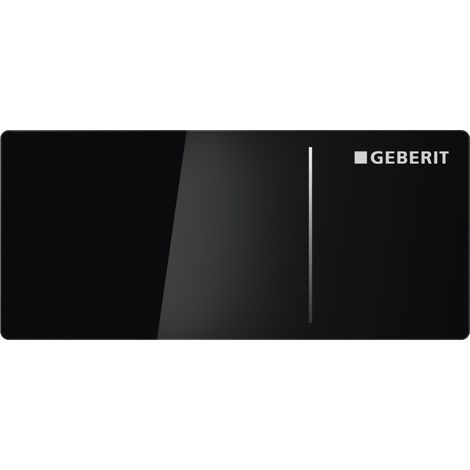 Geberit Flush actuator plate OMEGA70, black (115.084.SJ.1)