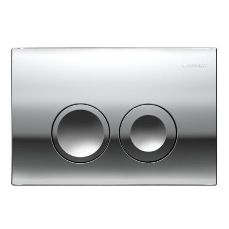 Geberit Flush Plate DELTA21, chrome (115.125.21.1)