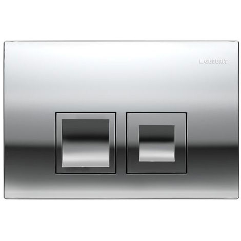 Geberit Flush Plate DELTA50, 115.135.21.1