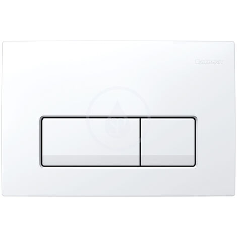 Geberit Flush Plate Geberit white 115.105.11.1