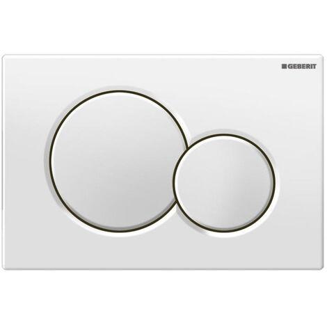 Geberit flush plate Sigma01 for dual flush, gloss chrome-plated (115.770.21.5)