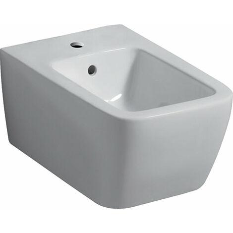 Geberit iCon bidé de pared cuadrado 231910, forma cerrada, color: Blanco - 231910000