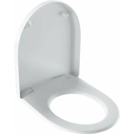 Geberit iCon Siège WC avec housse, blanc - 574120000