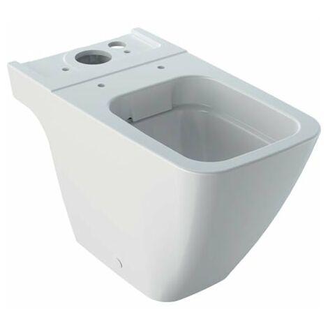 Geberit iCon Square WC sur pied sans rebord, pour réservoir de chasse en surface, 200930, unité de lavage, forme fermée, blanc, Coloris: Blanc - 200930000