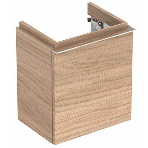 Geberit iCon xs Lavabo Lavabo 841039 370x420x280mm, natural roble Estructura madera - 841039000