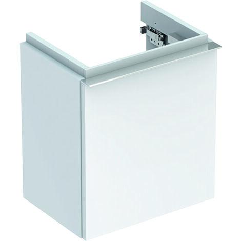 Geberit iCon xs Waschtischunterschrank 520x420x308 mm, mit einer Tür, Farbe: weiß lackiert hochglänzend - 840037000