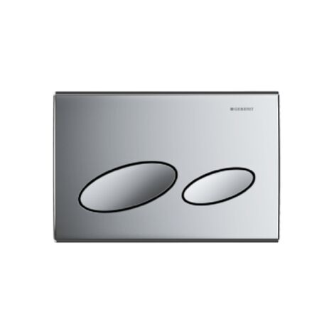 Geberit Kappa20 dual flush plate - Gloss chrome - 115.228.21.1