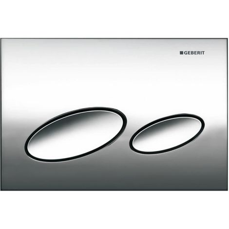 Geberit Kappa20 Dual Flush Plate Matt Chrome 115.228.46.1