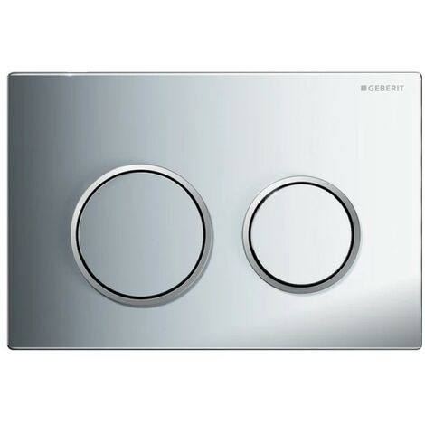 Geberit Kappa21 Dual Flush Plate - Gloss Chrome