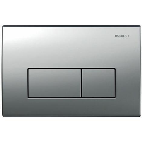 Geberit Kappa50 Dual Flush Plate, Matt Chrome
