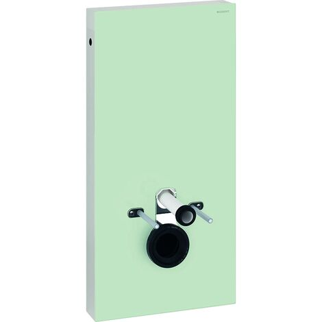 Geberit Monolith Back to Wall Toilet Frame for Wall Hung WC 1010mm H - Mint