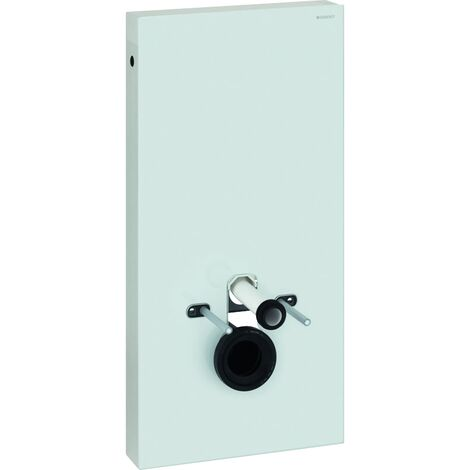 Geberit Monolith Back to Wall Toilet Frame for Wall Hung WC 1010mm H - White