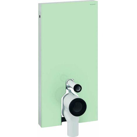 Geberit Monolith - Modulo di installo per WC a terra, 101 cm, ingresso laterale, verde menta 131.003.SL.5