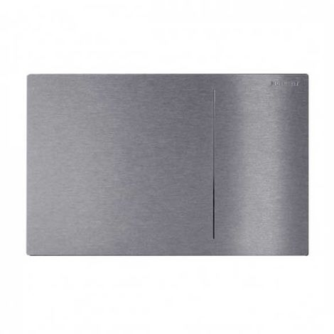 Geberit Omega 70 Dual Flush Plate for Furniture Sets Brushed Stainless Steel 115.089.FW.1