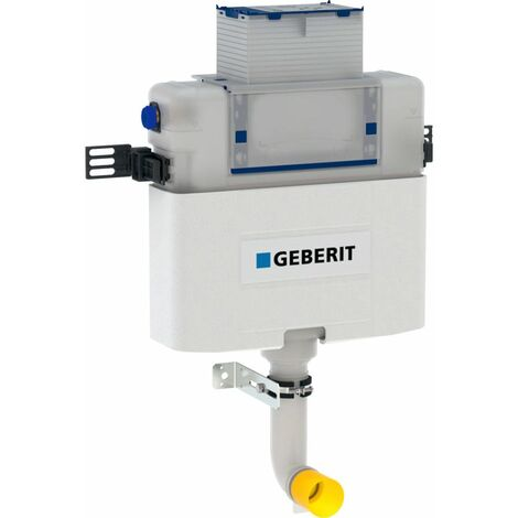 Geberit Omega Back To Wall BTW Toilet Concealed Cistern Dual Flush WC 6L 12cm