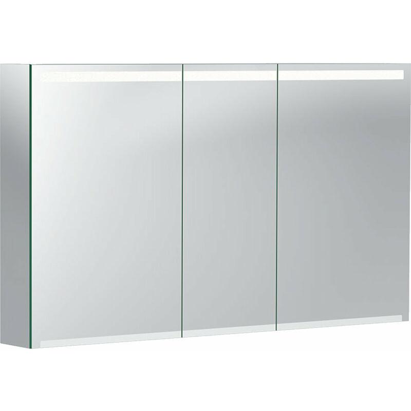 Geberit Opzione armadio a specchio con illuminazione, tre ...