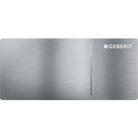 Geberit Plaque de déclenchement OMEGA70 GEBERIT, acier inoxydable brossé (115.083.FW.1)