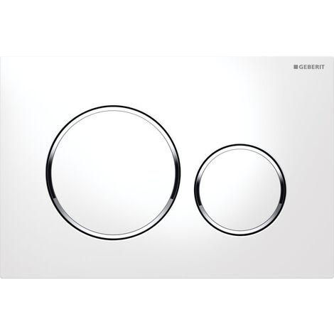 """main image of """"Plaque de commande - Double bouton rond - Sigma"""""""