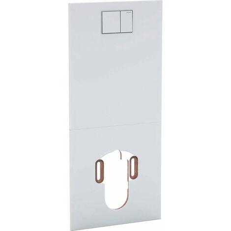 Geberit Plaque design pour système de WC complet AquaClean, Coloris: Verre Blanc - 115.328.SI.1