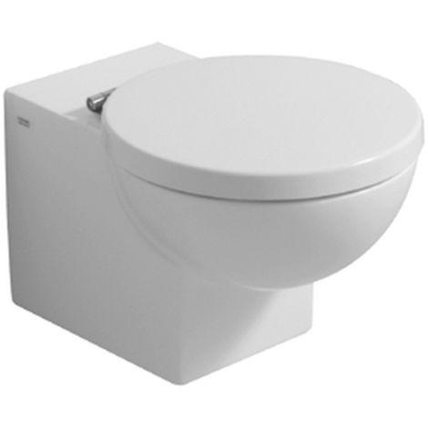 Geberit Preciosa WC-Sitz Edelstahlscharniere weiß 571180000
