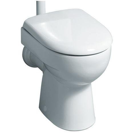 Geberit Renova Nr.1 WC de lavado 4.5-6l de piso con salida vertical en el interior, color: Blanco - 213011000