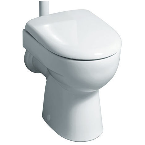 Geberit Renova Nr.1 WC de lavado 4.5-6l de piso con salida vertical en el interior, color: Blanco, con KeraTect - 213011600
