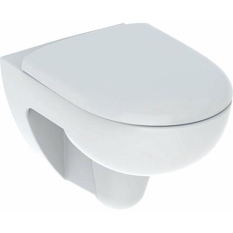 Geberit Renova Set lave-glace mural, Rimfree, avec siège WC, blanc, 500801001 - 500.801.00.1
