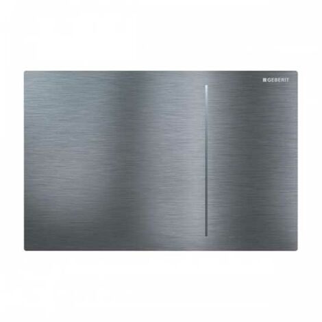 Geberit Sigma 70 Dual Flush Plate for 120mm Concealed Cistern - Brushed Stainless Steel