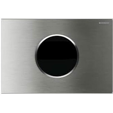 Geberit Sigma10 Battery Operated and Touchless Flush Plate for Cistern, Stainless Steel Brushed