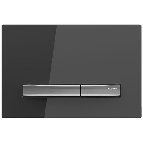 Geberit Sigma50 Dual Flush Plate - Smoke Glass