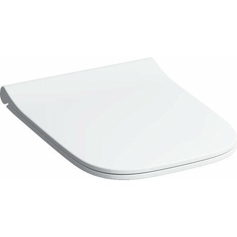 Geberit Smyle Slim siège WC avec couvercle, sandwich, antibactérien, blanc - 500.239.01.1