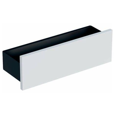Geberit Smyle Square Wandablage, 500362, 45x14,8x14,3 cm, Farbe: Weiß Hochglanz Lack - 500.362.00.1