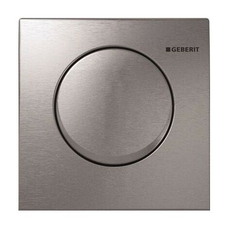 Geberit urinal control with pneumatic flush release, actuating plate Mambo - 116.013.FW.1
