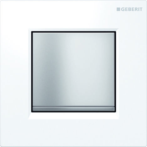Geberit urinal control with pneumatic flush release, actuator plate type 30