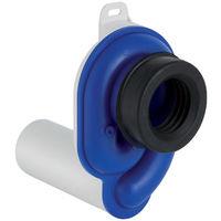 GEBERIT Urinal Geruchsverschluss Abgang horizontal d50 weiß-alpin 152950111