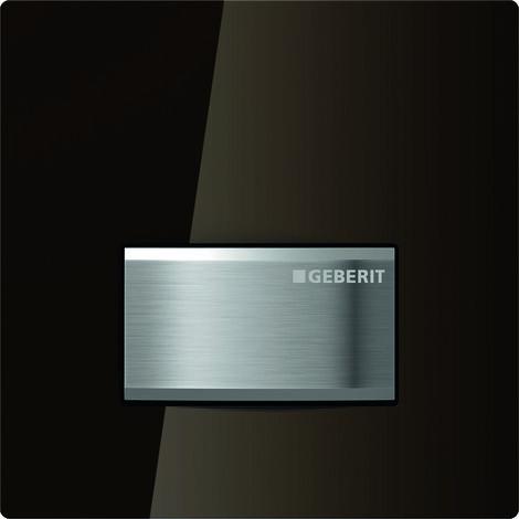 Geberit Urinalsteuerung mit pneumatischer Spülauslösung, Betätigungsplatte Typ 50, Coloris: ombre - 116.016.SQ.5