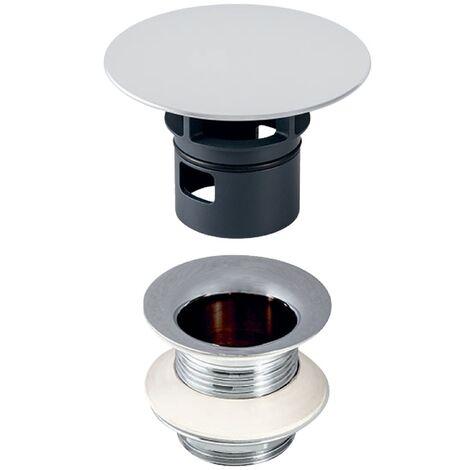 Geberit Vanne à tige avec bouchon de vidange 1 1/4x50mm chromé - 152.050.21.1