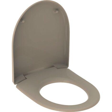 Geberit WC-Sitz 573010080 RENOVA Nr. 1 Scharniere: Edelstahl bahamabeige