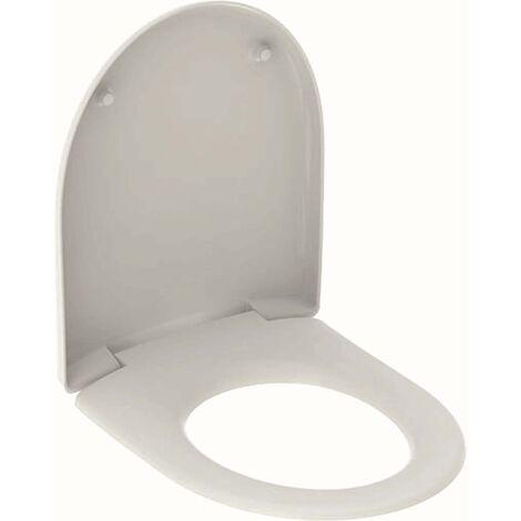 Geberit WC-Sitz Renova Nr. 1 weiß, Scharniere Edelstahl