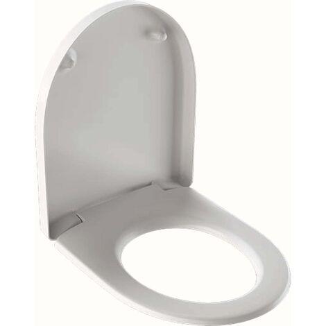 Geberit WC-Sitz Renova Plan we, Befestig. v unt, Scharn. Edelstahl