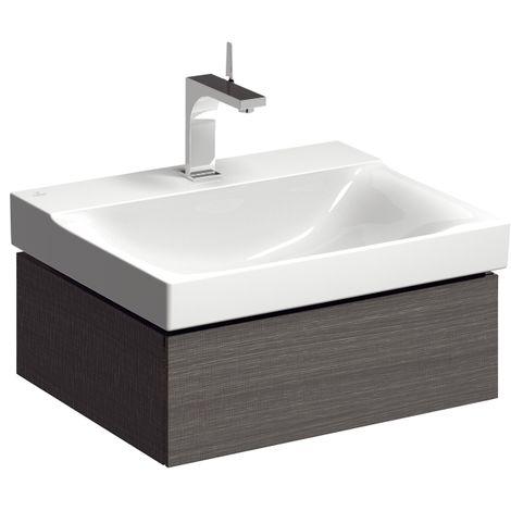 Geberit Xeno 2 Módulo lavabo 807162 580x220x462mm, estructura madera Scultura Grey - 807162000